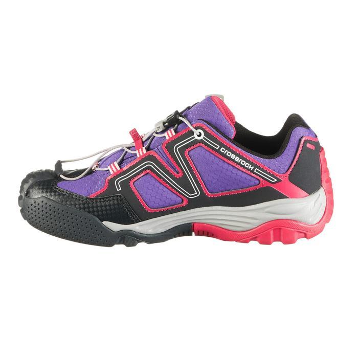Zapatillas de senderismo niños Crossrock impermeable Rosa