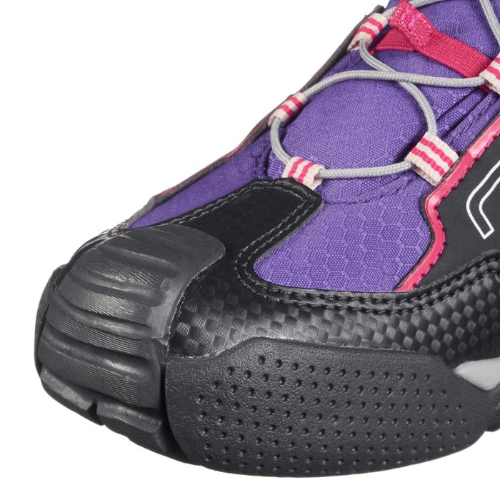Zapatillas de senderismo niños Crossrock impermeables violeta