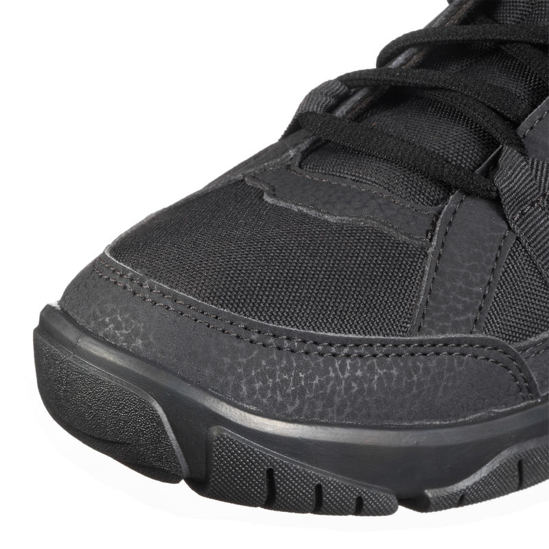 Men's Hiking Shoes NH100 (Mid Ankle) - Black