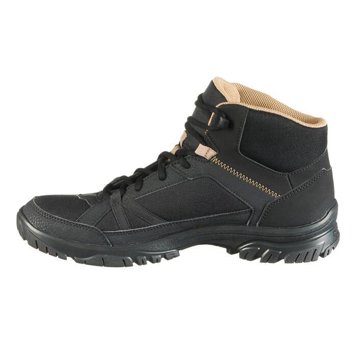 Chaussure de randonnée nature NH100 mid noire homme