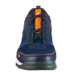 Zapatillas de senderismo naturaleza NH100 fresh azul hombre