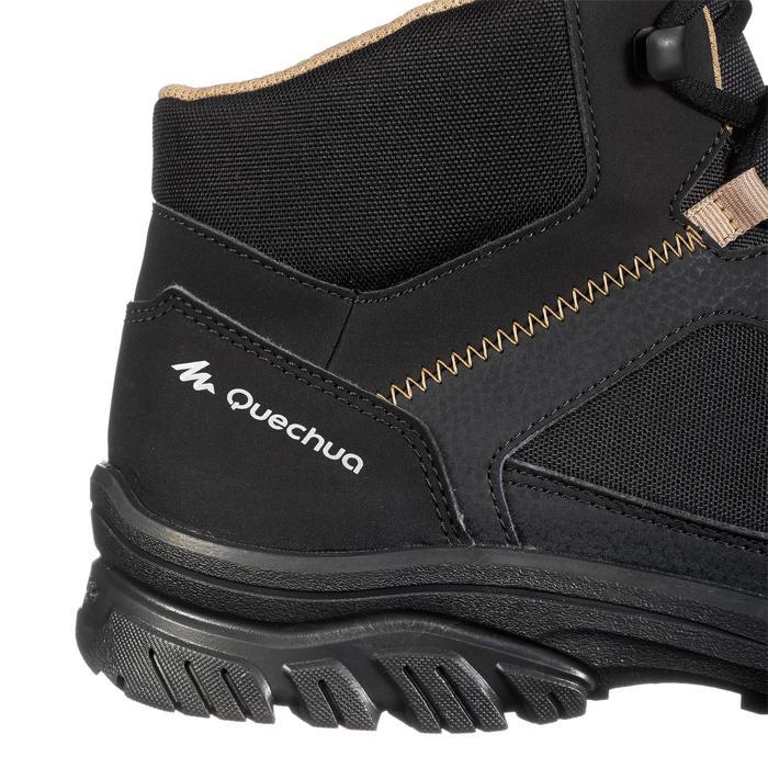 Chaussure de randonnée nature NH100 mid noire homme - 1285494