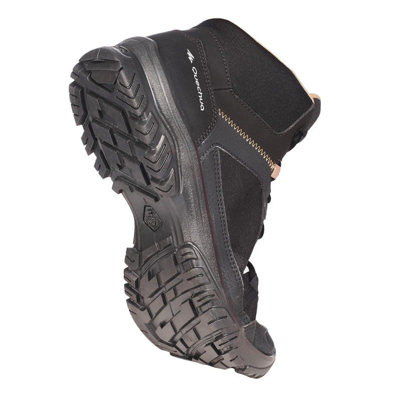NH100 Mid Men's Country Walking Boots - Black