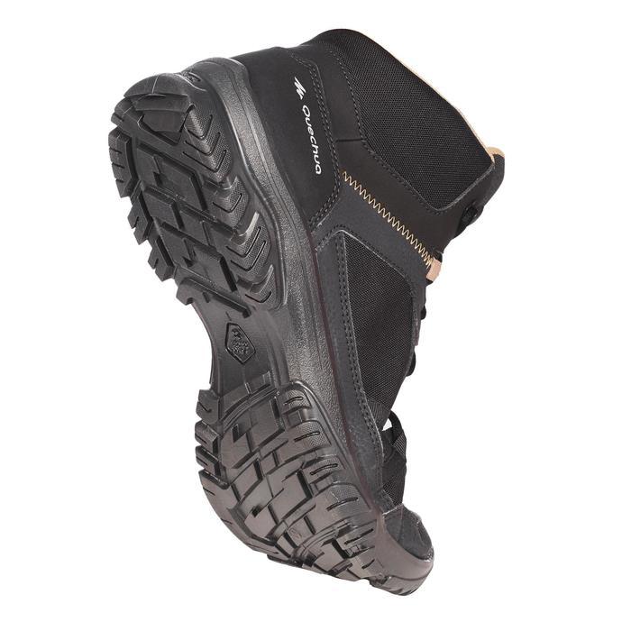 Chaussures de randonnée nature NH100 mid noire homme