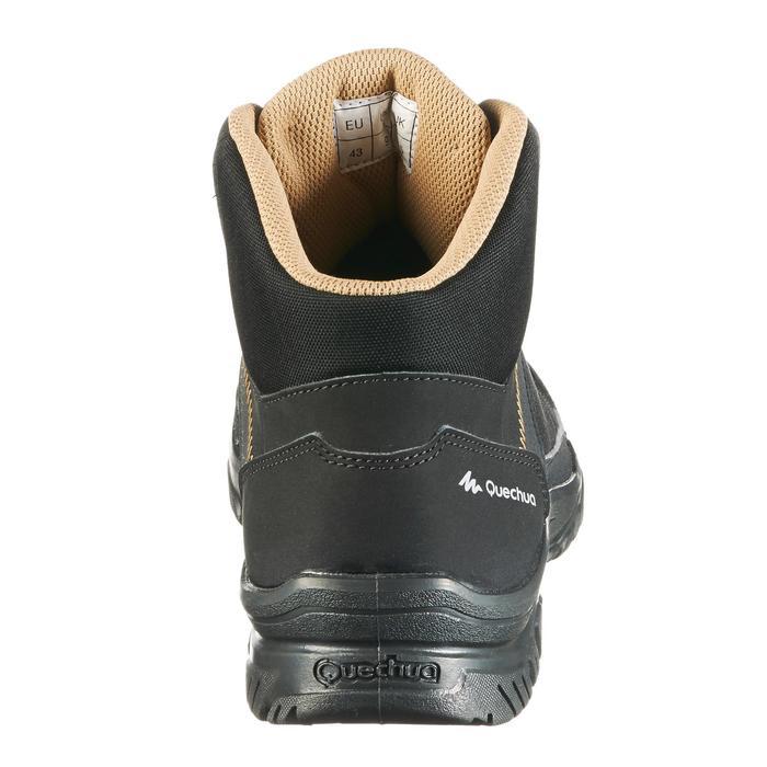 Chaussure de randonnée nature NH100 mid noire homme - 1285497