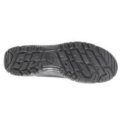 Schoenen voor wandelen in de natuur NH500 mid zwart heren