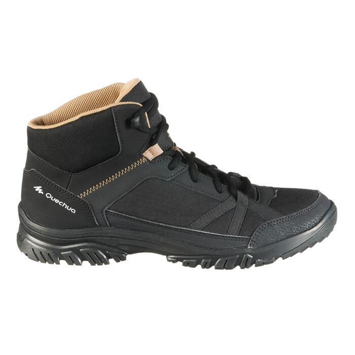 Chaussure de randonnée nature NH100 mid noire homme - 1285504