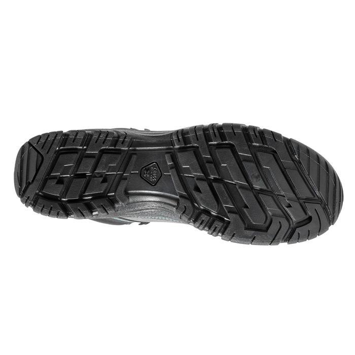 Chaussures de randonnée nature NH100 mid gris bleu femme