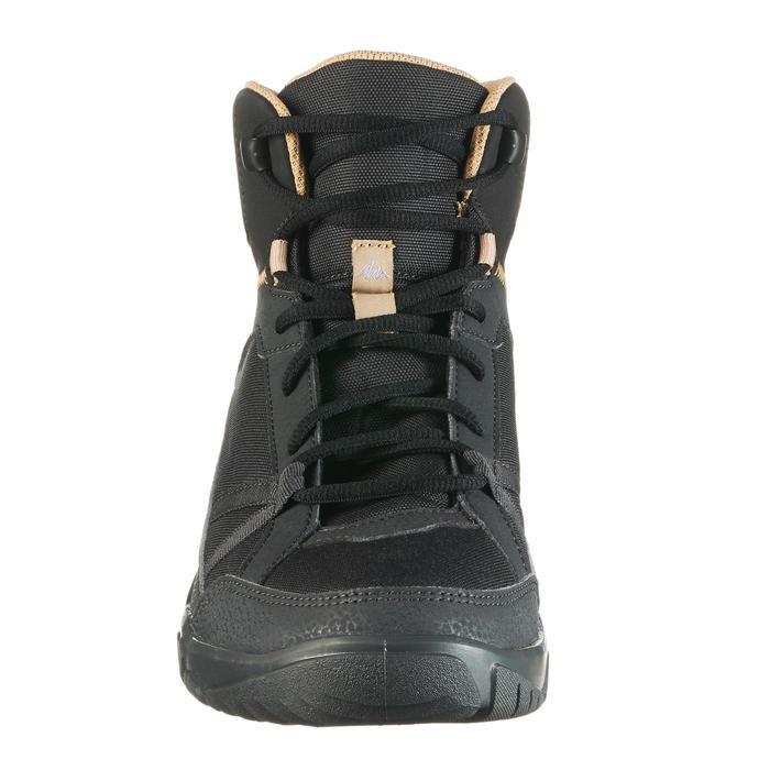 Chaussure de randonnée nature NH100 mid noire homme - 1285509