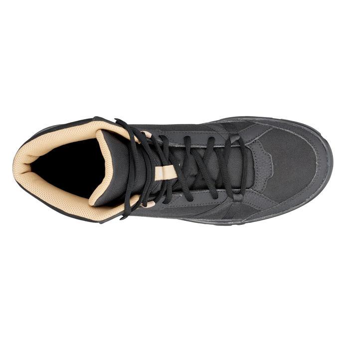Chaussure de randonnée nature NH100 mid noire homme - 1285512
