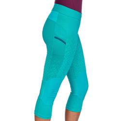 Legging de randonnée rapide Femme FH 500 Helium Turquoise