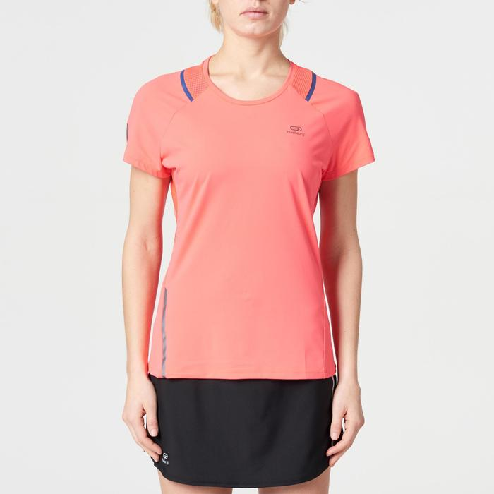 RUN DRY+ WOMEN'S RUNNING T-SHIRT - CORAL