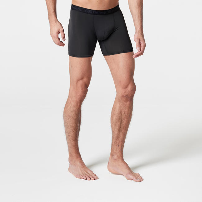 Men's Breathable Running Boxers - black