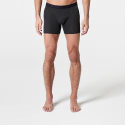 Men's Breathable Running Boxers - black