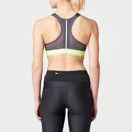 """Trumpi sportiniai bėgimo marškinėliai """"Comfort"""" ‒ margai pilki"""