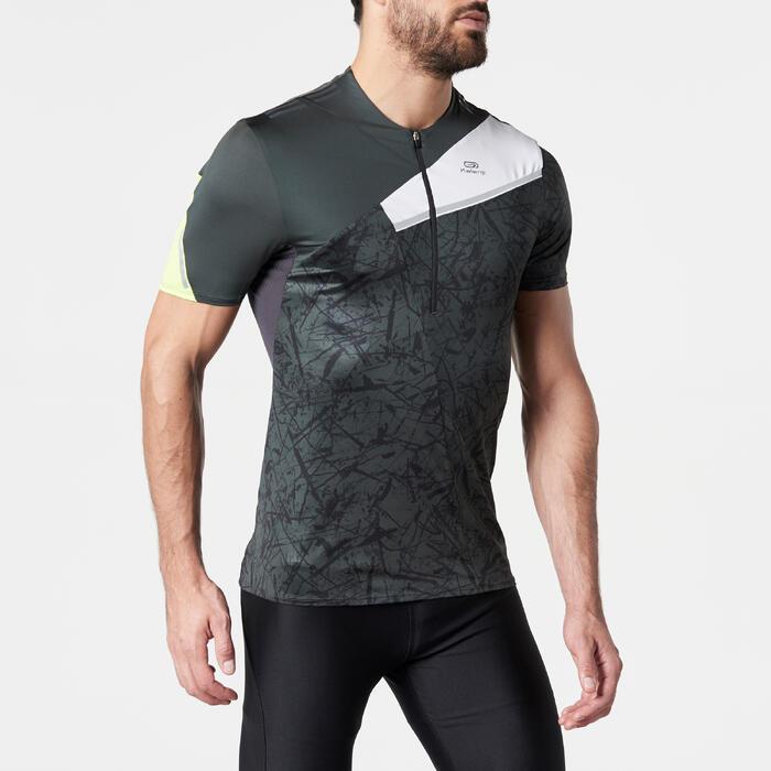 Camiseta de manga corta Perf trail running GRAPH hombre gris
