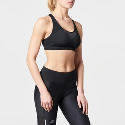 BASIC RUNNING SPORTS BRA BLACK
