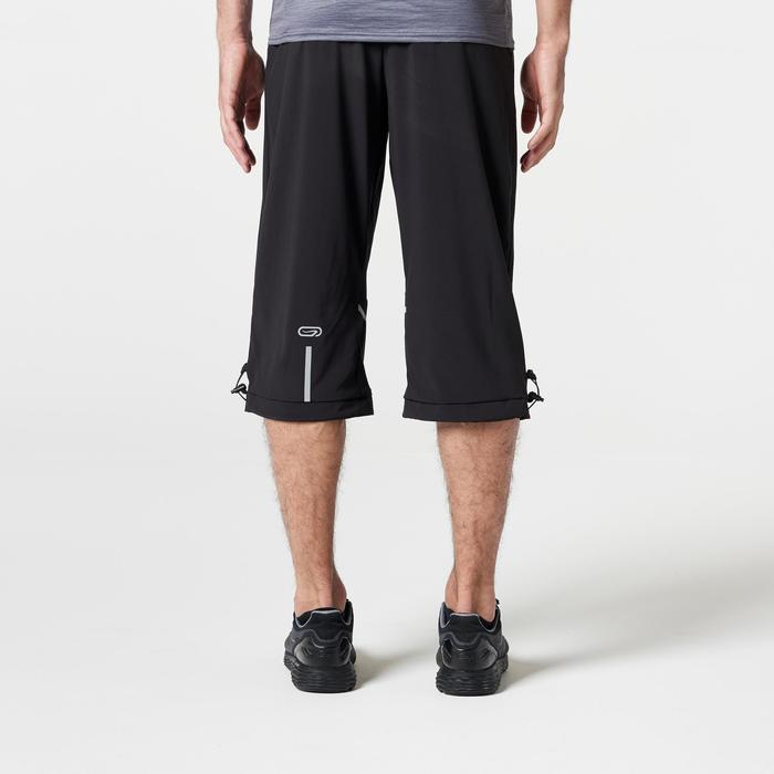 Run Dry+ Men's Running Cropped Trousers - Black