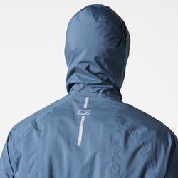 Regenjacke Trail Herren blau/grau