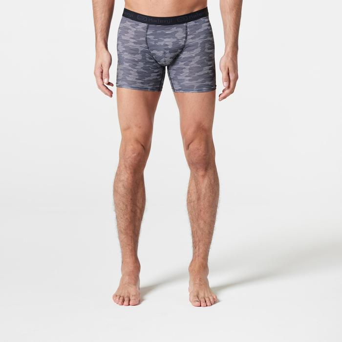 Men's Running Breathable Boxers Prussian Blue - 1285700