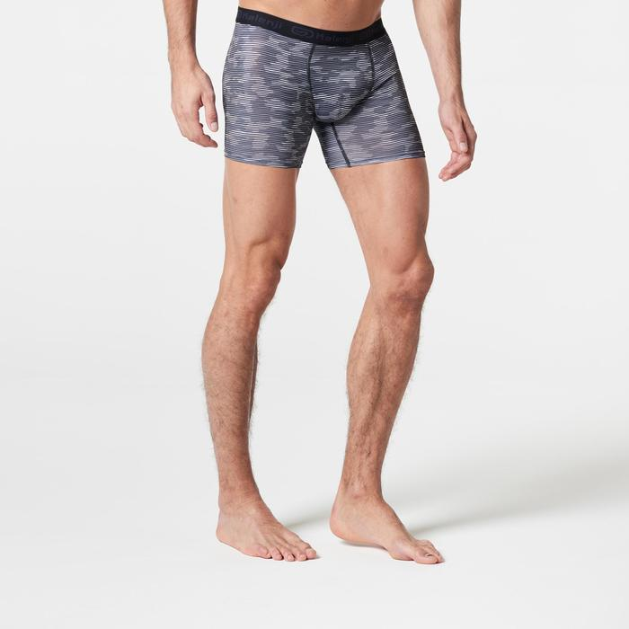 Men's Running Breathable Boxers Prussian Blue - 1285731