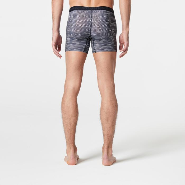 Men's Running Breathable Boxers Prussian Blue - 1285737