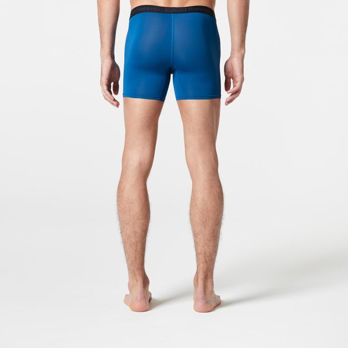 Men's Running Breathable Boxers Prussian Blue - 1285816