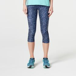 Run Dry + Women's Running Cropped Bottoms mottled grey