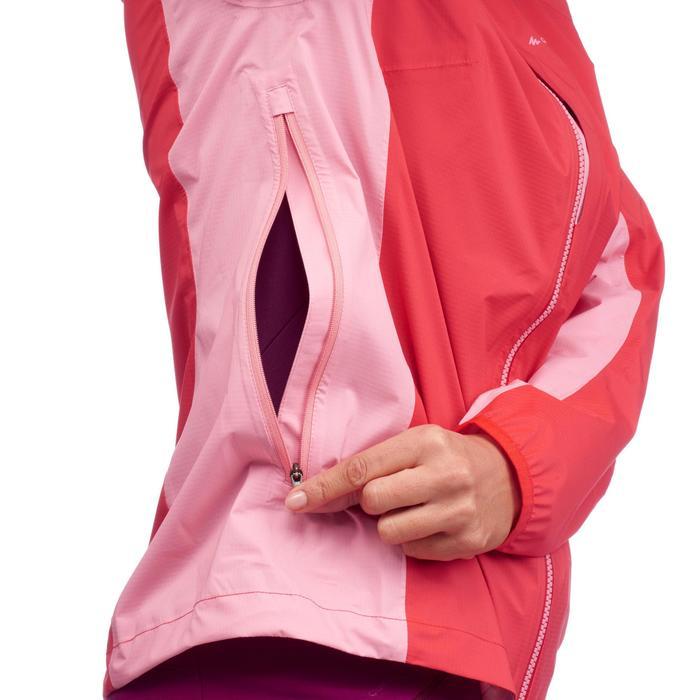 Veste imperméable de randonnée rapide Femme FH500 Helium Rain - 1285865