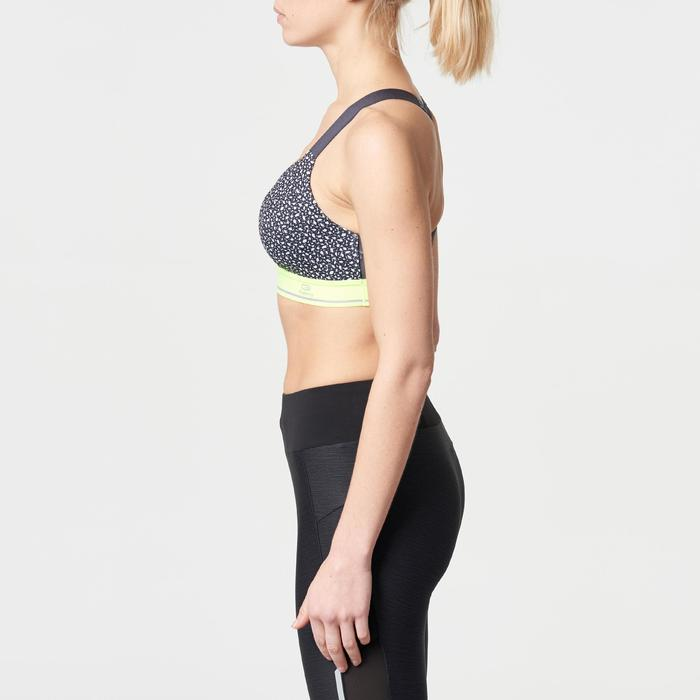Sport-Bustier Komfort grau