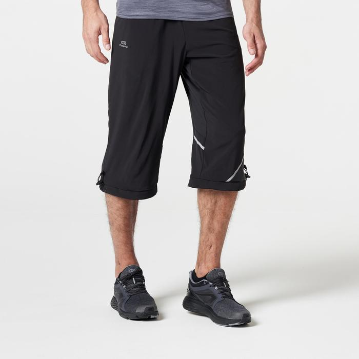 PANTACOURT RUNNING HOMME RUN DRY+ NOIR - 1285949