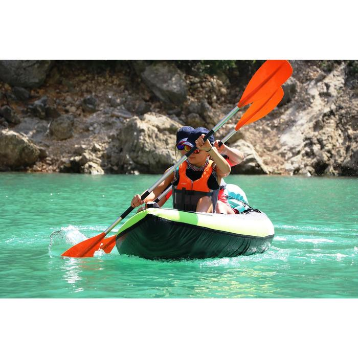 Zwemvest 50N+ blauw voor kajak stand-up paddling zwaardboot
