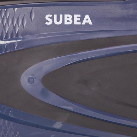 Sepatu katak menyelam scuba SCD 500 - Hitam/Biru