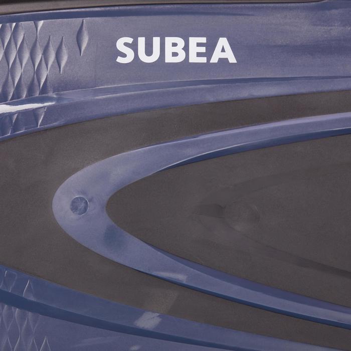 Aletas de buceo con botella SCD 500 negras / azules
