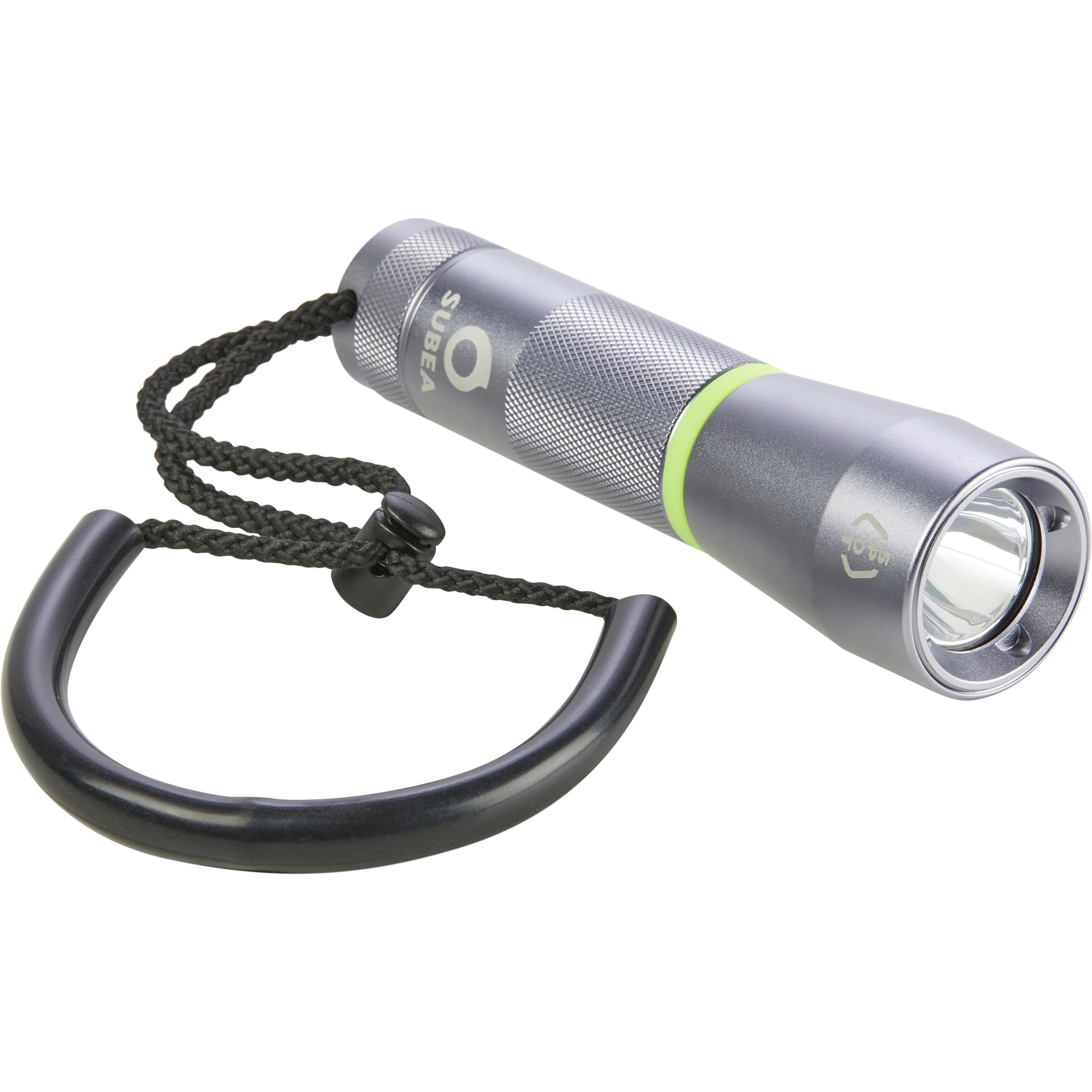Foco/linterna de submarinismo SCD 100 spot 100 lumen, 3000 lux, estanca 100 m