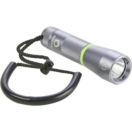 SCD 100 lumen spot diving torch/lamp, 3000 lux, watertight to 100m