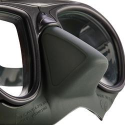 Duikbril voor freediving Calibro groen