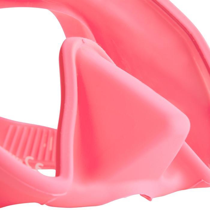 Masque de plongée et d'apnée Maxlux S rose - 1286255