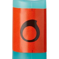 兒童款自由潛水呼吸管FRD 100-淺碧藍色