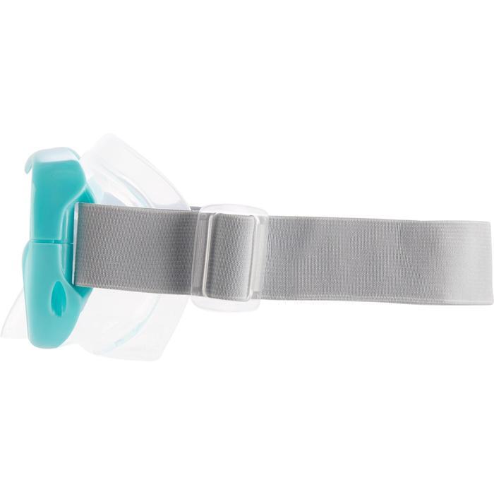 Duikbril FRD100 turquoise voor kinderen