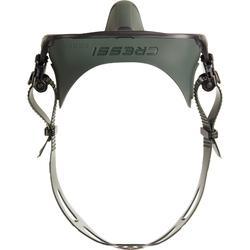 Duikbril voor harpoenvissen en vrijduiken Calibro groen