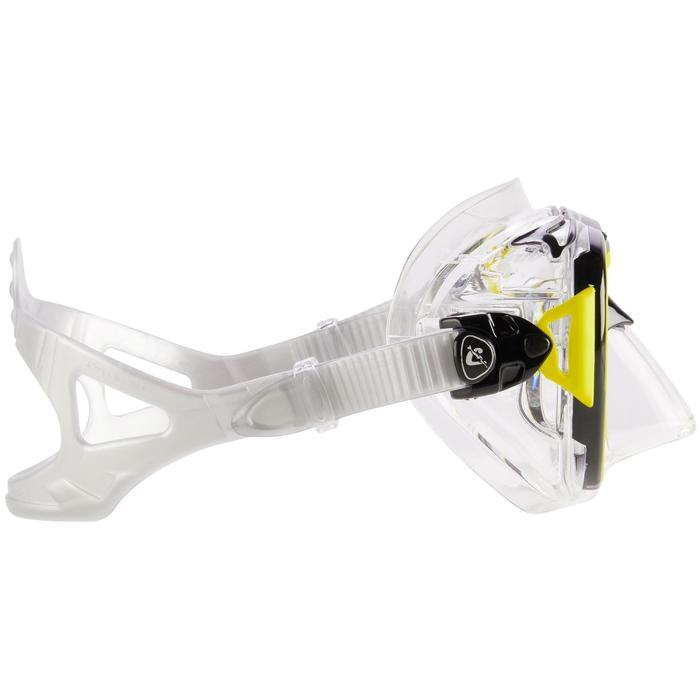 Masque de plongée sous-marine Air Crystal jaune - 1286284
