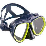 Adult Diving mask SCD 500 - Blue Skirt