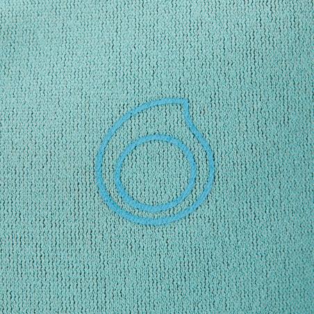 Shorty de snorkel 1,5 mm junior 100 kid azul turquesa
