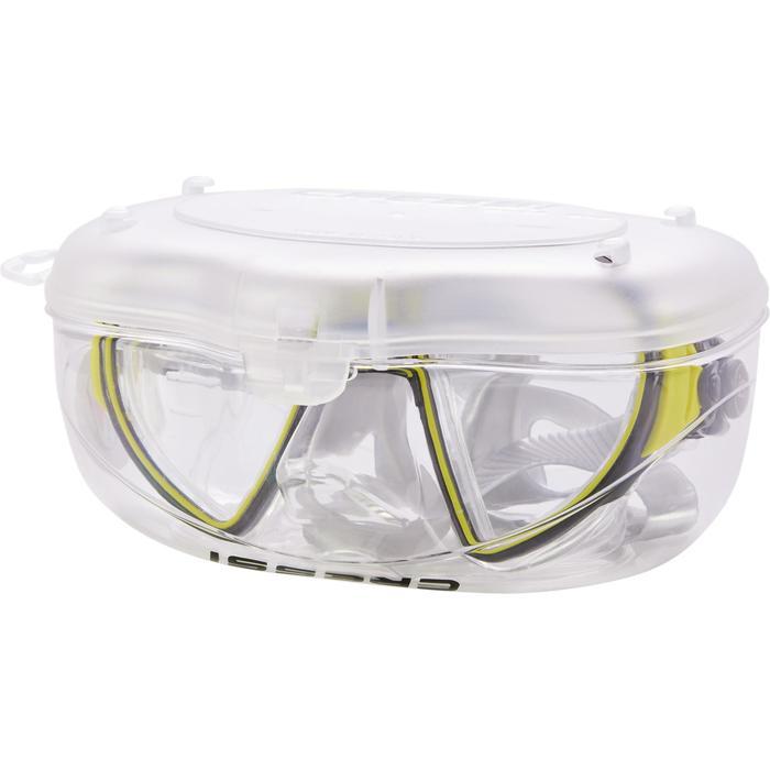 Masque de plongée sous-marine Air Crystal jaune - 1286302