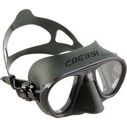Máscara de pesca submarina en apnea Calibro verde