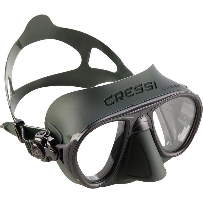 Masque de chasse et d'apnée masque Calibro vert - 1286303