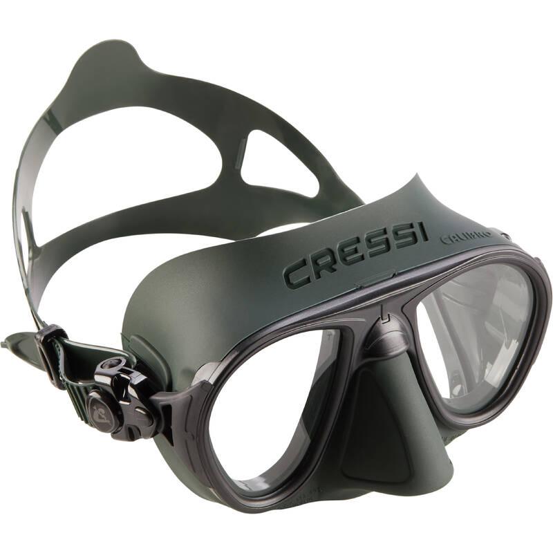 SPEARFISHING FINS, MASKS, SNORKELS Potápění a šnorchlování - POTÁPĚČSKÉ BRÝLE CALIBRO CRESSI - Freediving a podmořský rybolov