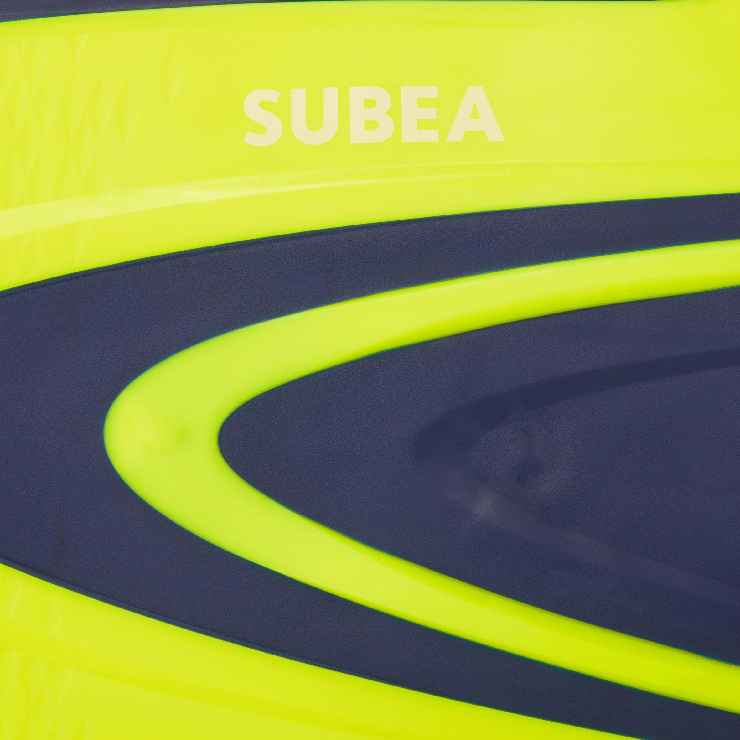 SCD 500 SCUBA Diving Fins blue/fluo yellow