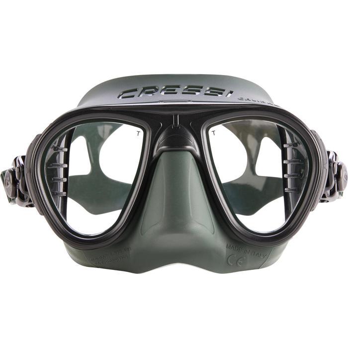Masque de chasse et d'apnée masque Calibro vert - 1286313